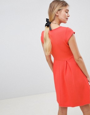 photo Skater Dress by Gilli, color Coral - Image 2