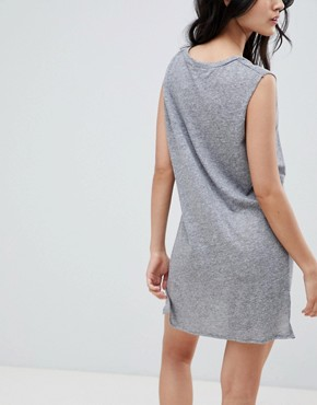 photo Shelby Tank Dress by NYTT, color Grey - Image 2