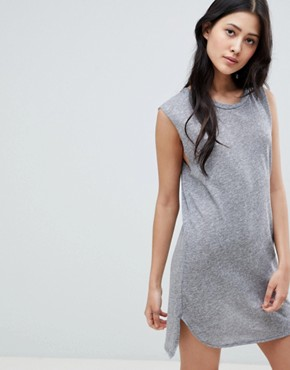 photo Shelby Tank Dress by NYTT, color Grey - Image 1