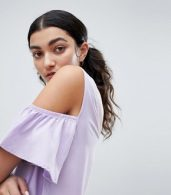 photo Cold Shoulder Shift Dress by Noisy May, color Pastel Lilac - Image 3