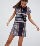 photo Festival Print Dress by Noisy May, color Multi - Image 1