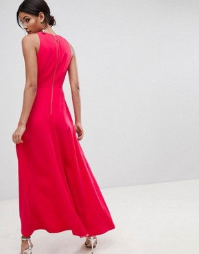 photo Madizon Maxi Dress by Ted Baker, color Deep Pink - Image 2