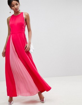 photo Madizon Maxi Dress by Ted Baker, color Deep Pink - Image 1