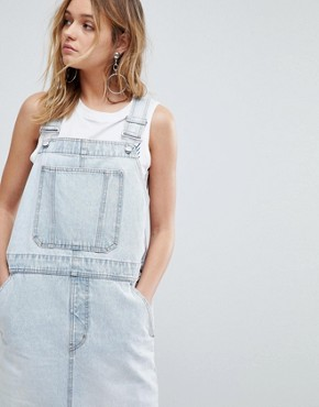 photo 90s Dungaree Dress by Cheap Monday, color Tom Blue - Image 3