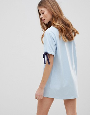 photo Lexi T-Shirt Dress by Tokyo Laundry, color Blue - Image 2