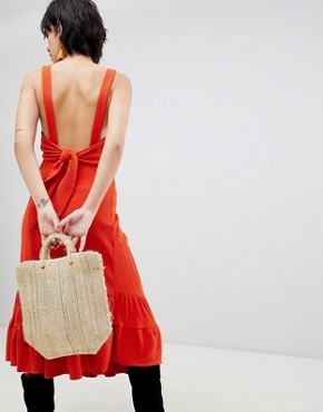 photo Into You Maxi Dress by Free People, color Red - Image 2