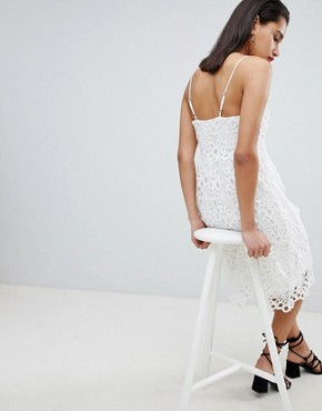 photo Lace Cami Dress by Vila, color White - Image 2