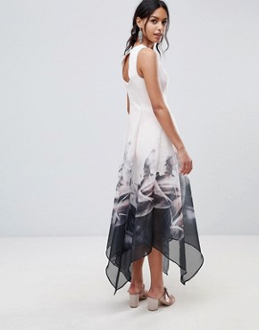 photo Floral Skirt Maxi Dress by Coast, color Multi - Image 2
