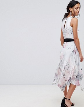 photo Soft Floral Print Swing Dress by Coast, color Multi - Image 2