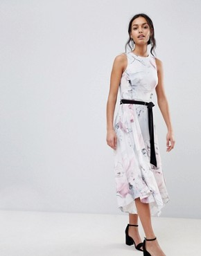 photo Soft Floral Print Swing Dress by Coast, color Multi - Image 1