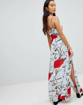 photo Floral Maxi Dress by Parisian, color Multi - Image 2