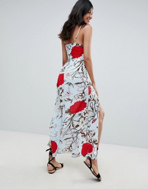 photo Floral Maxi Dress by Parisian Tall, color Multi - Image 2