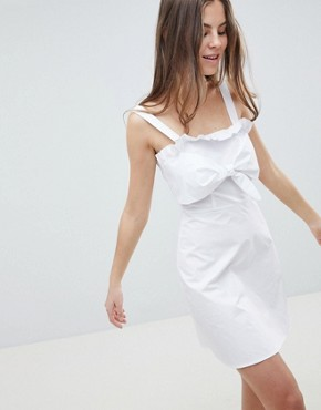 photo Cami Sun Dress by Fashion Union, color White - Image 1