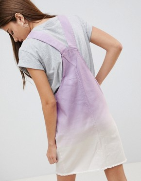 photo Ombre Denim Dress by Noisy May, color Purple - Image 2