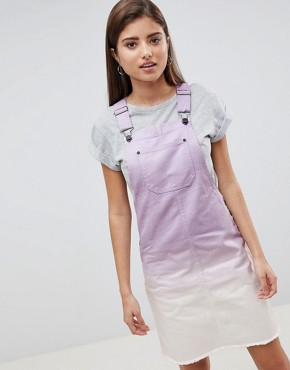 photo Ombre Denim Dress by Noisy May, color Purple - Image 1