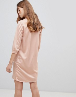 photo V-Neck Sporty Dress by Vila, color Pink - Image 2