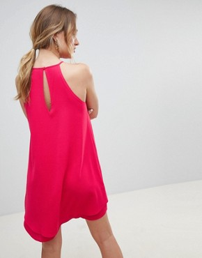 photo Keyhole Summer Dress by Only, color Pink - Image 2