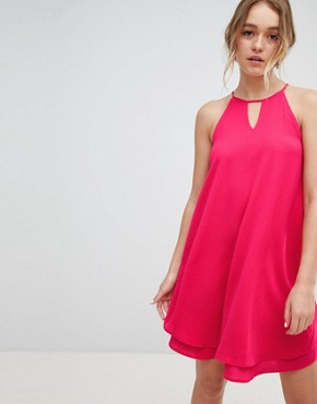 photo Keyhole Summer Dress by Only, color Pink - Image 1