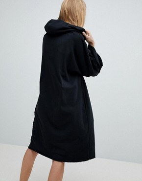 photo Jersey Dress with Hood by Dr Denim, color Black - Image 2