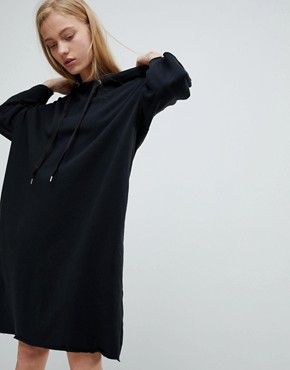 photo Jersey Dress with Hood by Dr Denim, color Black - Image 1