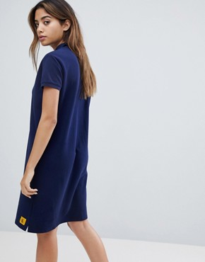 photo Polo Dress by Calvin Klein Jeans, color Peacoat - Image 2