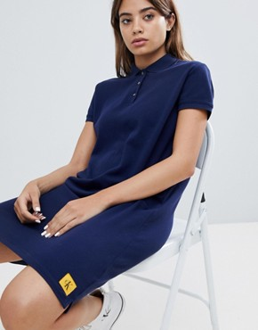 photo Polo Dress by Calvin Klein Jeans, color Peacoat - Image 1