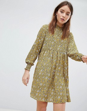 photo Ditsy Printed Smock Dress by JDY, color Multi - Image 1