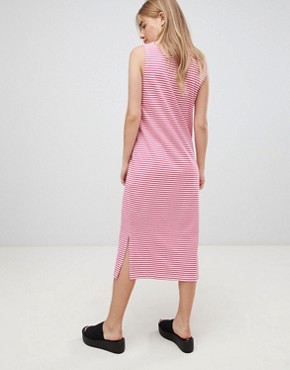photo Sleeveless Striped Jersey Maxi Dress by JDY, color Multi - Image 2