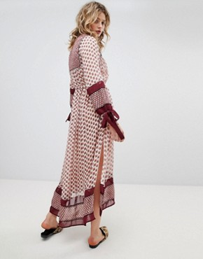 photo Boho Maxi Dress by Maison Scotch, color  - Image 2