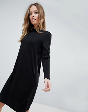 photo High Neck Dress by Vila, color Black - Image 1