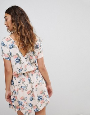 photo Deborah Floral Print Mini Dress by Pepe Jeans, color Multi - Image 2