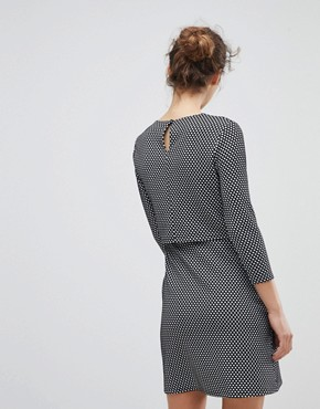 photo Checked Dress by Miss Selfridge, color Mono - Image 2