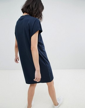 photo High Neck Dress by Weekday, color Blue - Image 2