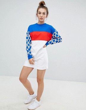 photo Pepsi Sweat Dress by ASOS DESIGN, color Multi - Image 1