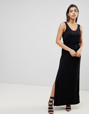photo Maxi Dress with Split by Ivyrevel, color Black - Image 1