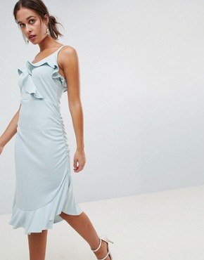 photo Frill Dress by Mama.licious Nursing, color Blue - Image 1