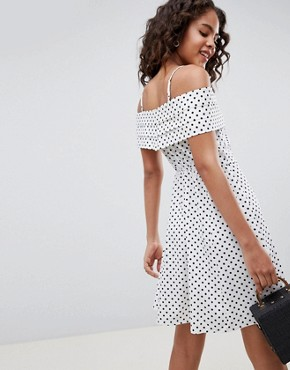 photo Spot Sundress with Pleat Detail by ASOS DESIGN Tall, color Multi - Image 2