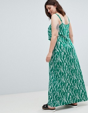 photo Printed Maxi Dress by Junarose, color Multi - Image 2