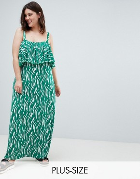 photo Printed Maxi Dress by Junarose, color Multi - Image 1