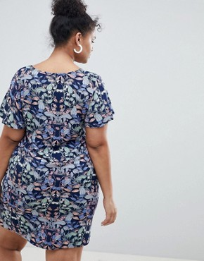 photo Floral Shift Dress by Junarose, color Multi - Image 2