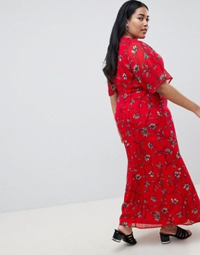 photo Floral Maxi Dress by Junarose, color Multi - Image 2