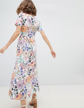photo Floral Maxi Dress by Vero Moda, color Multi - Image 2