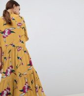 photo Floral Smock Dress by Y.A.S, color Multi - Image 2