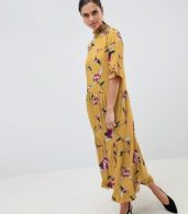 photo Floral Smock Dress by Y.A.S, color Multi - Image 4