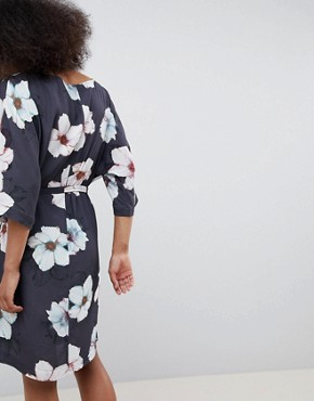 photo Floral Kimono Dress by MbyM, color Zia Print - Image 2