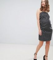 photo Cami Dress with Tie Back in Polka Dot by Glamorous Bloom, color Black White Polka - Image 4