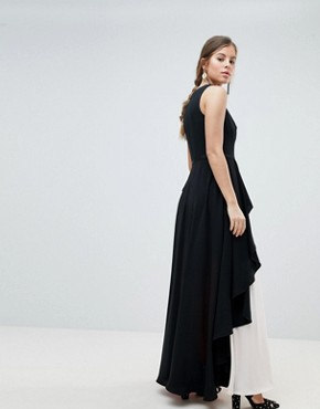 photo Piper Colourblock Maxi Dress by Coast, color Mono - Image 2