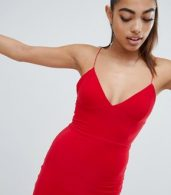 photo Mini Cami Dress in Red by Fashionkilla, color Red - Image 4