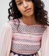 photo Late Night Picnic Smock Dress by Free People, color Pink - Image 3