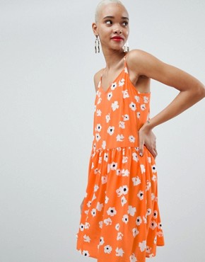 photo Daisy Cami Dress by Pieces, color Multi - Image 1